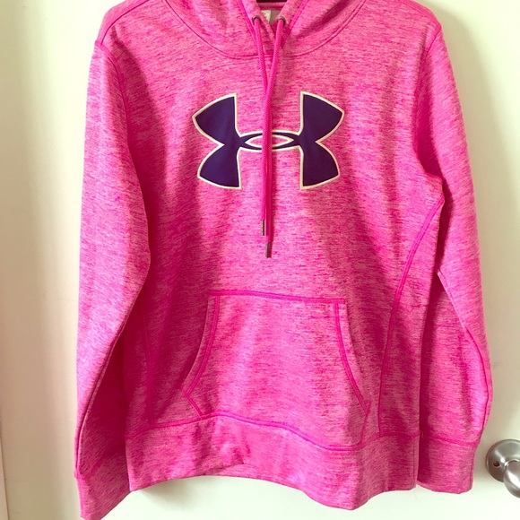 a01c7d70e Under Armour Sweaters | Hot Pink Under Armor Hoodie | Poshmark